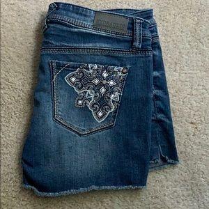 Hydraulic • jean shorts